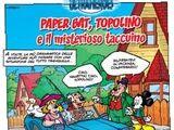 Paper Bat, Topolino e il misterioso taccuino