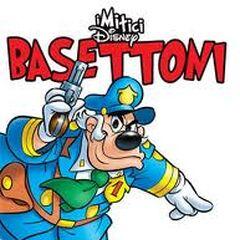 La copertina de <i>I Mitici Disney</i> dedicata al personaggio di Basettoni.