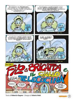 Filo & Brigitta e il giallo della telecucina