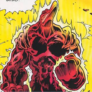 Zoster trasformato dai poteri di <a href=