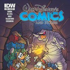 Copertina dell'autore di Walt Disney Comics and Stories 725B