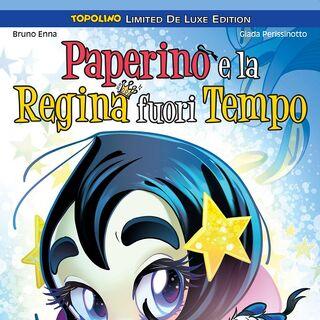Cover di Topolino Limited Deluxe dell'autrice per la ristampa su volume unico di <a href=
