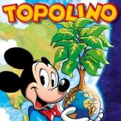 Cover dell'autore di Topolino 2943 dedicata al giorno della Terra