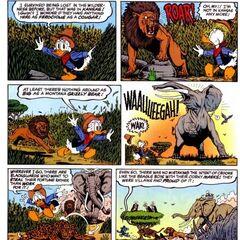 Paperone vs la Savana