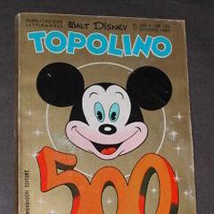 Copertina numero 500