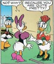 Donna nei Fumetti