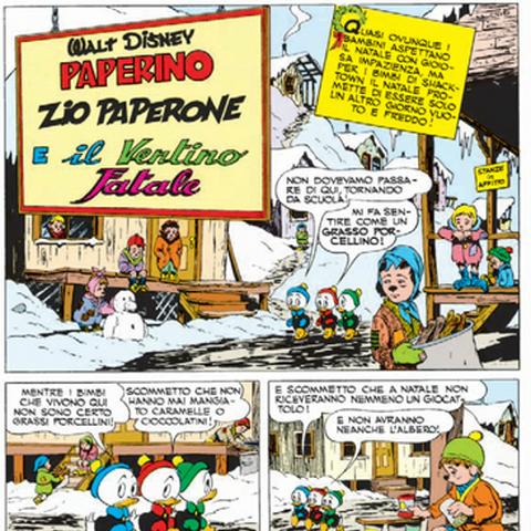 Prima pagina italiana