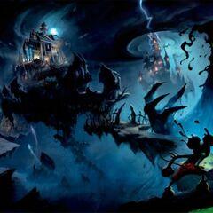 Macchia Nera in Epic Mickey