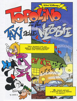 Topolino e il taxi delle nebbie