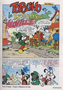Topolino e le bizzarie di Neoville