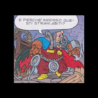 Il <b>Cavaliere Analogico</b> nella sua seconda apparizione.