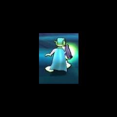 Pk con la tuta aliena nel videogioco