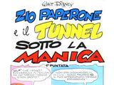 Zio Paperone e il tunnel sotto la Manica