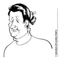 Elisa Penna caricatura