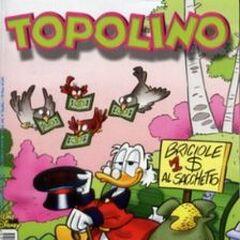 Copertina Topolino 2424 dell'autore