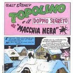 Prima tavola di Topolino e il doppio segreto di MN