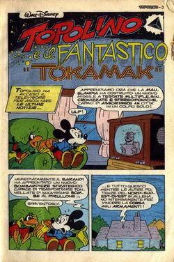 Topolino e il fantastico Tokamak