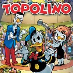 Copertina Topolino 3039 dell'autore dedicata al Festival di Sanremo 2014