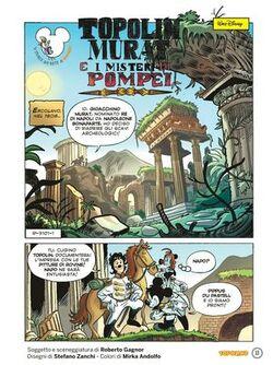 Topolin Murat e i misteri di Pompei