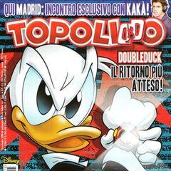 Copertina Topolino 2815 dell'autore dedicata alla storia DoubleDuck - Cacciatori e prede