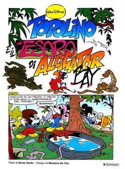 Topolino e il tesoro di Alligator Bay