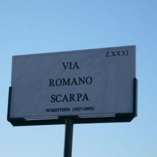 Via dedicata a Romano Scarpa (Roma)
