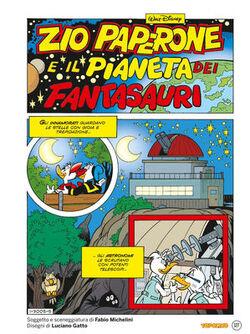 Zio Paperone e il pianeta dei Fantasauri