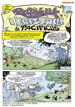 Reginella e i cristalli di Pacificus