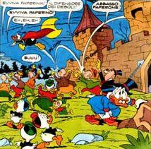 Paperinik e il Castello delle Tre Torri