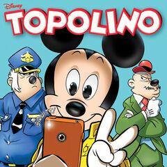 Copertina dell'autore dedicata a Topolino e la sfida all'ultimo Squitt