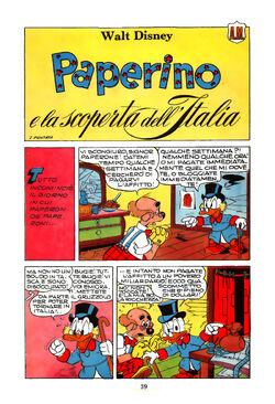 Paperino e la scoperta dell'Italia