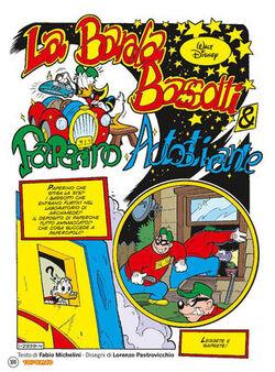 La banda Bassotti & Paperino autostirante
