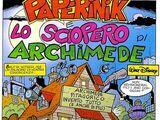 Paperinik e lo sciopero di Archimede