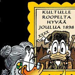 Illustrazione di Don Rosa per il Calendario dell'Avvento