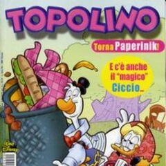 Copertina Topolino 2420 dell'autore