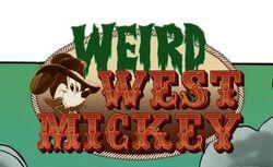 Weird West Mickey logo