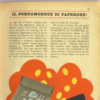 Il portamonete di Paperone