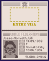 United federation passport 1160