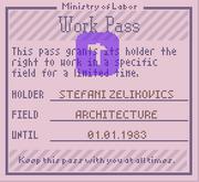 Work pass 1160