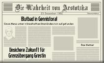 Tag 31 Zeitung