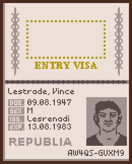 Vince passport 1160