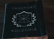 Kolechia passport film