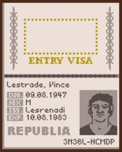 Vince passport