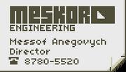 Anegovych card