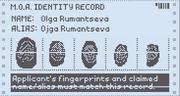 Identity record 1160