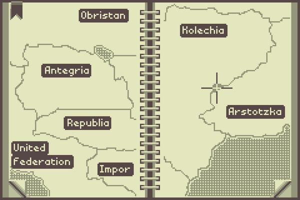 Rulebook-map