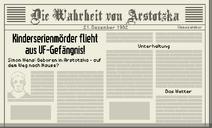 Tag 29 Zeitung