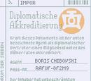 Diplomatische Akkreditierung