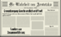 Tag 1 Zeitung