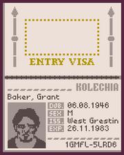 Kolechia passport open